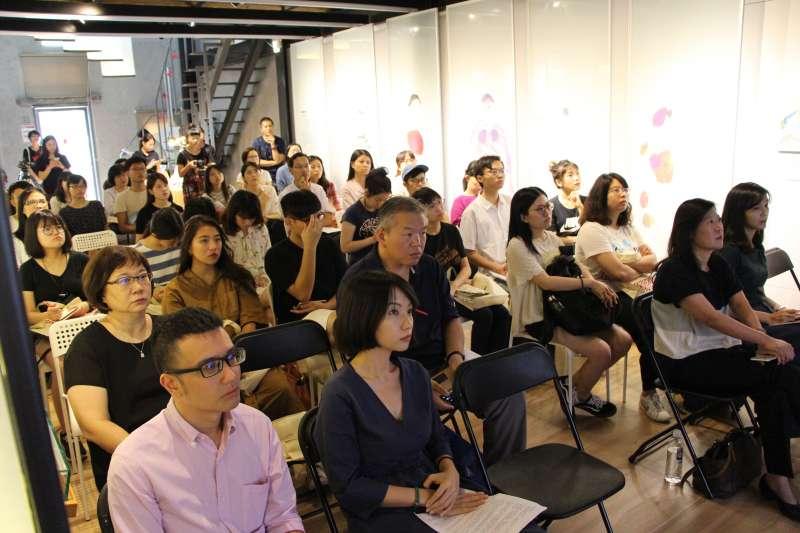 風傳媒與婦援會舉行慰安婦座談。(郭丹穎攝)