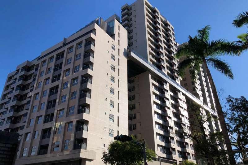 台北市文山區興隆D2公共住宅,只租不賣。(王學呈攝)