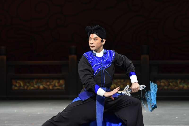 劉祐昌在《夜奔》獨挑大樑,扮演林沖。(國光劇團提供)