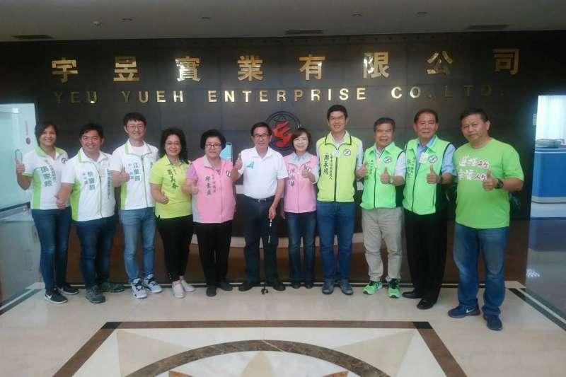 前總統陳水扁20日前往彰化與「一邊一國連線」成員進行座談。(李天生提供)