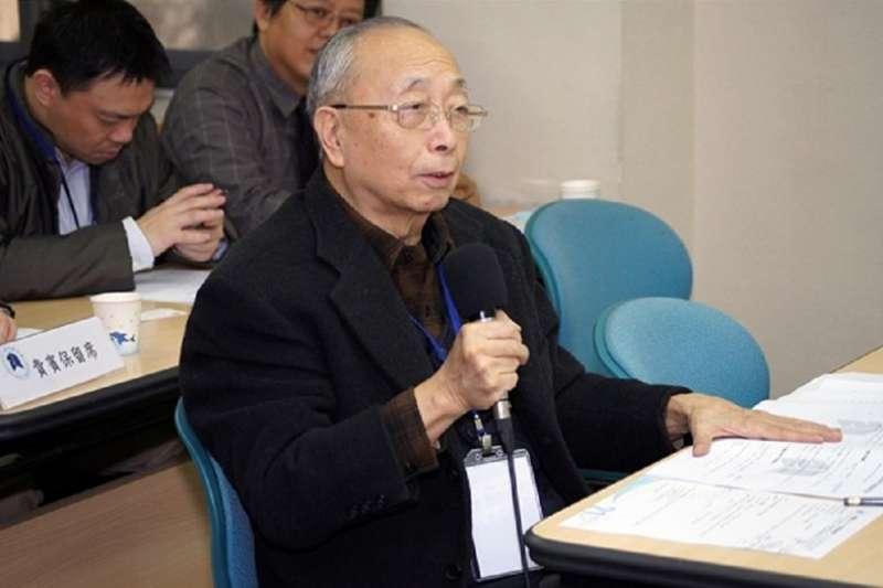 胡佛數十年來在台灣政治學界影響很大。(資料照,取自政大人文中心網站)