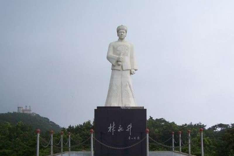甲午海戰經遠號艦長林永升(百度百科)
