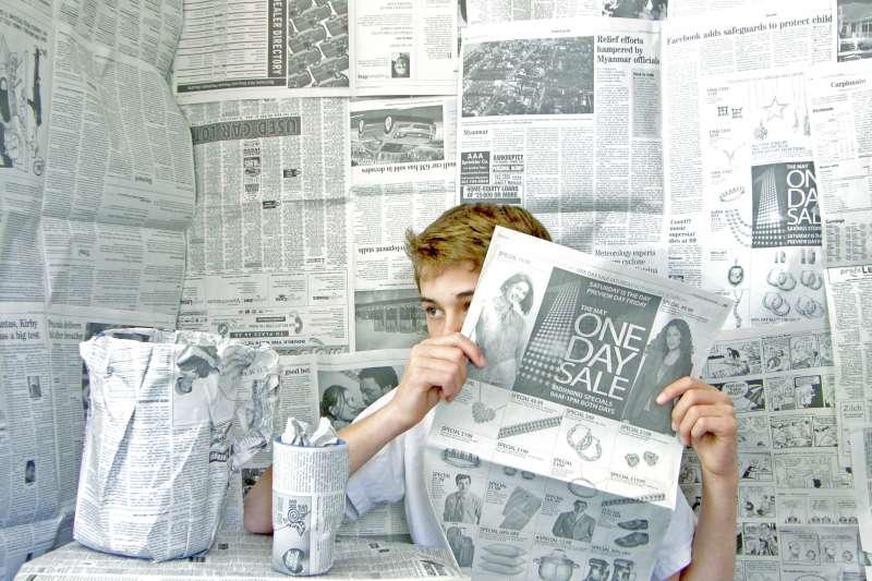 假新聞四處流竄,我們到底應該如何防範?(圖/Flickr)