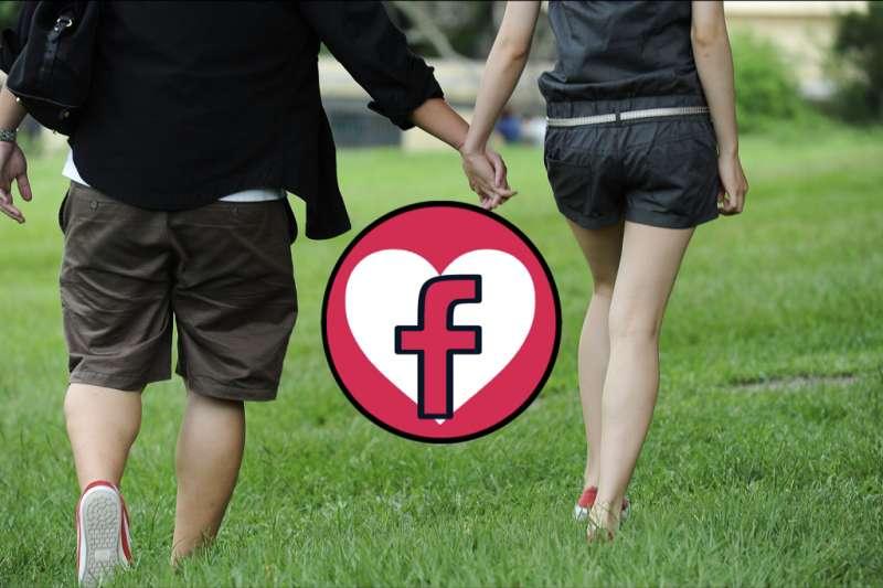 Facebook將推出「約會服務」?單身的人有福了!(圖/flickr@chia ying Yang,風傳媒合成)