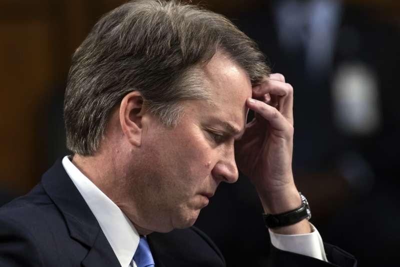 美國聯邦最高法院大法官人選卡瓦諾捲入性侵疑雲(美聯社)