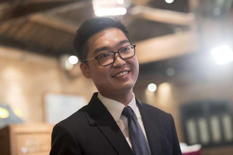 港府提出將香港民族黨列為非法組織,證據就是召集人陳浩天在多個公開活動、傳媒訪問中的發言,難道這不是以言入罪嗎?(資料照,美聯社)