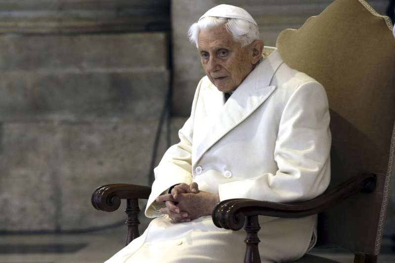 天主教榮退教宗本篤十六世(AP)