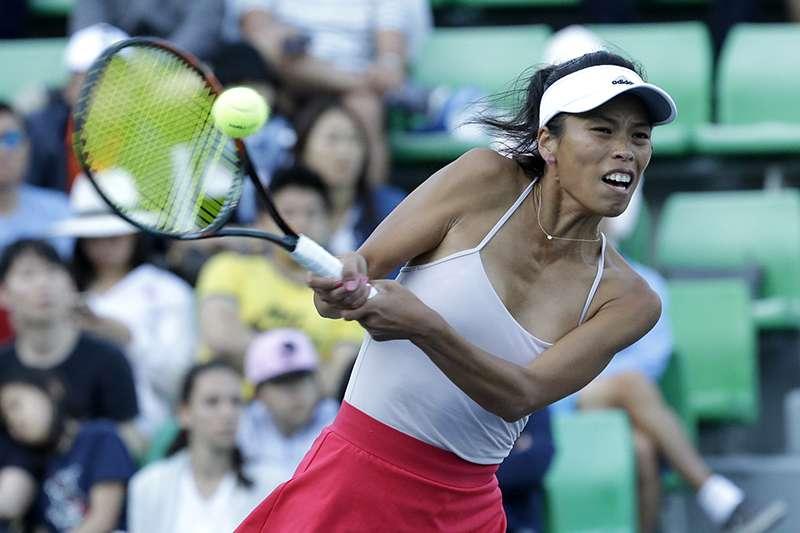 謝淑薇為了備戰下周到來的澳網,本周先參加了雪梨網球賽,也順利挺進第二輪。(美聯社)