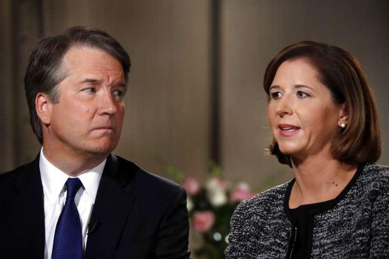 美國大法官被提名人卡瓦諾捲入性侵疑雲。(AP)