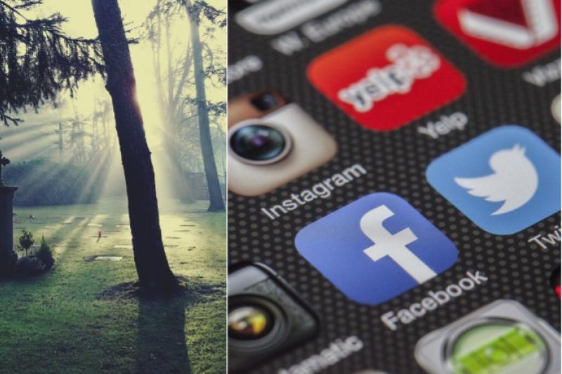 過世後,我們在社群網站的點點滴滴,將何去何從呢?(圖/取自 Pixabay)