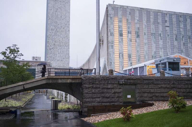 第73屆聯合國大會在紐約的聯合國總部登場。(美聯社)