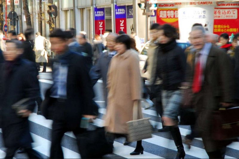 2014年「Jawbone」公司分析數據指出,全球21個城市裡,日本東京每晚的平均睡眠時間最少(美聯社)