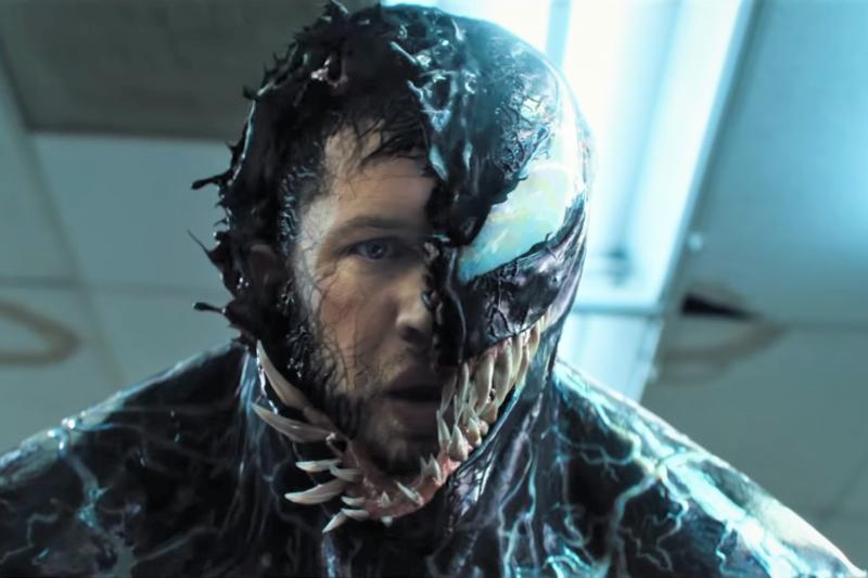 即將上映的索尼漫威英雄電影《猛毒》找來英倫男星湯姆哈迪飾演男主角,引起廣大影迷熱烈迴響。(圖/取自youtube)