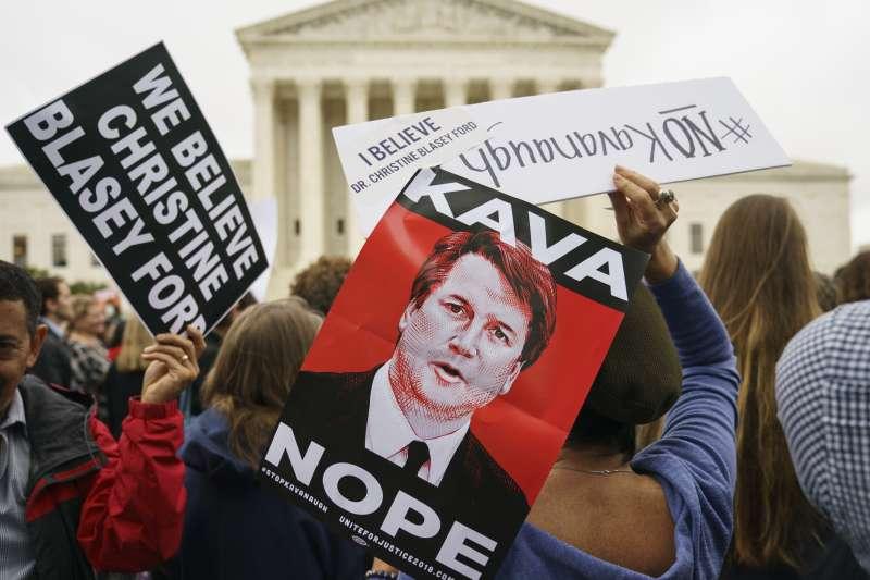 美國聯邦最高法院大法官被提名人卡瓦諾陷入性侵疑雲(AP)