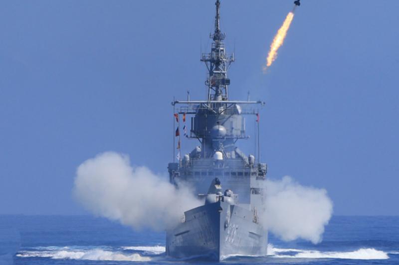 濟陽級巡防艦。(翻攝國防部官網)