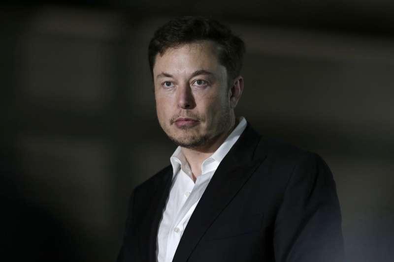 特斯拉(Tesla)共同創辦人、董事長兼執行長馬斯克(Elon Musk)(AP)