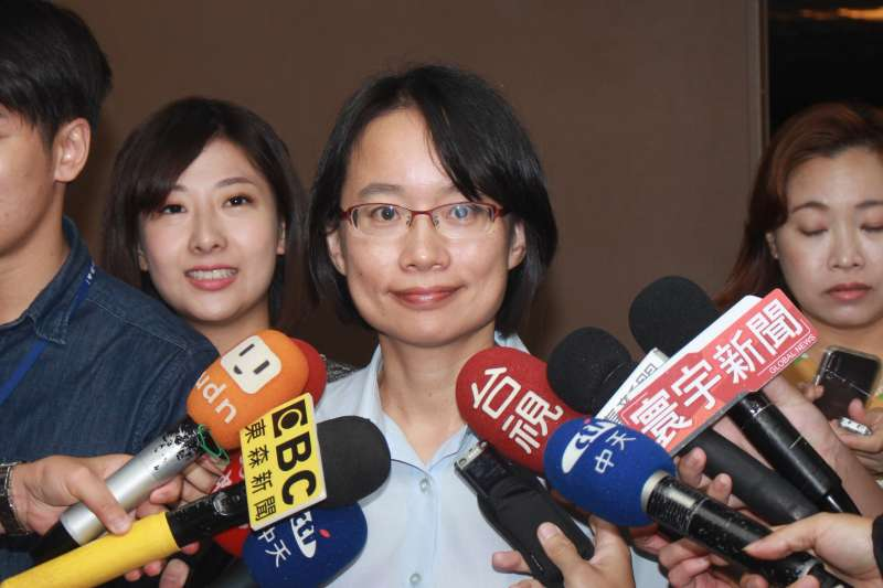 20180928-北農總經理吳音寧28日接受媒體訪問。(方炳超攝)