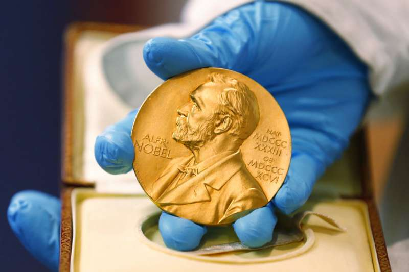 諾貝爾獎。(美聯社)