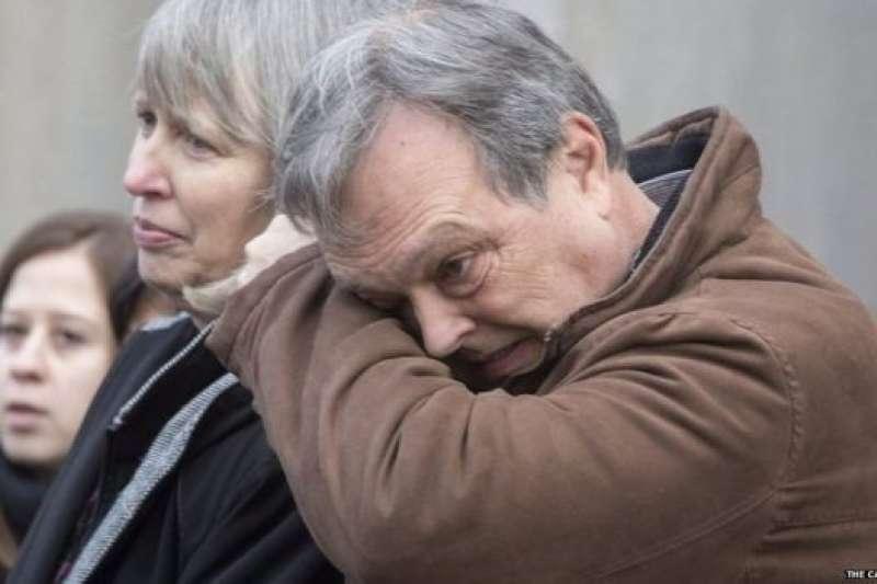 巴布科克的父母出席聆聽女兒謀殺案