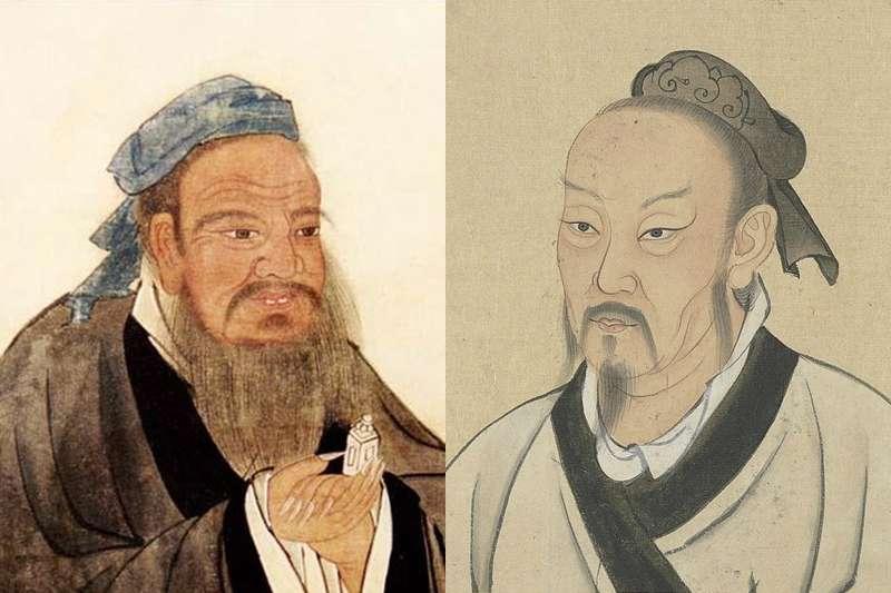 孔子、孟子這些古聖先賢們,原來都很愛離婚?(圖/維基百科)