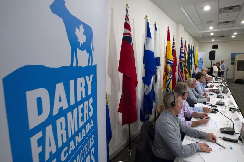 《北美自由貿易協定》(NAFTA)重新談判,加拿大乳製品市場是關鍵爭議之一(AP)