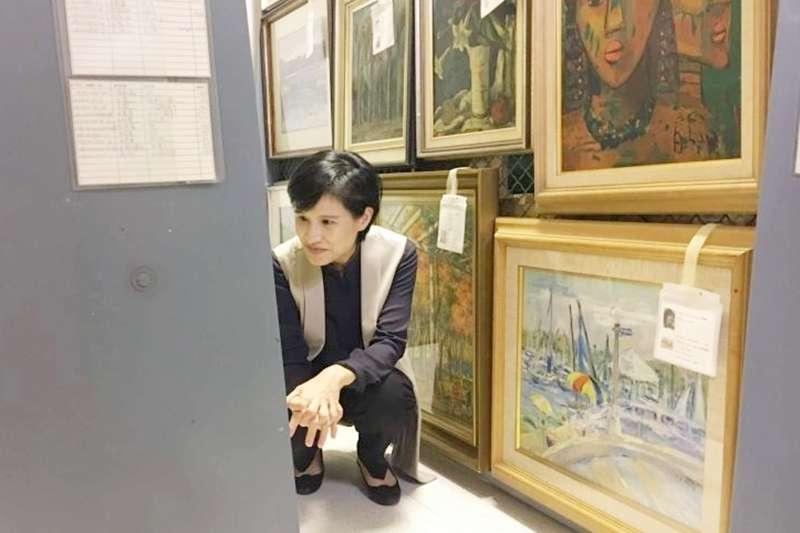 橫跨日治到當代的600幅台灣名家畫作,近期要回台灣了。(圖/取自文化部官網)