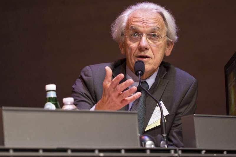 2018年諾貝爾物理學獎得主,法國科學家穆胡(Gérard Mourou)(美聯社)