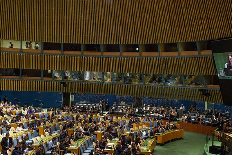 第73屆聯合國大會總辯論日前落幕,有8台友邦組團會晤聯合國副秘書長狄卡洛,支持台灣參與聯合國體系,呼籲解除對台記者的採訪限制。(資料照,取自聯合國網站)