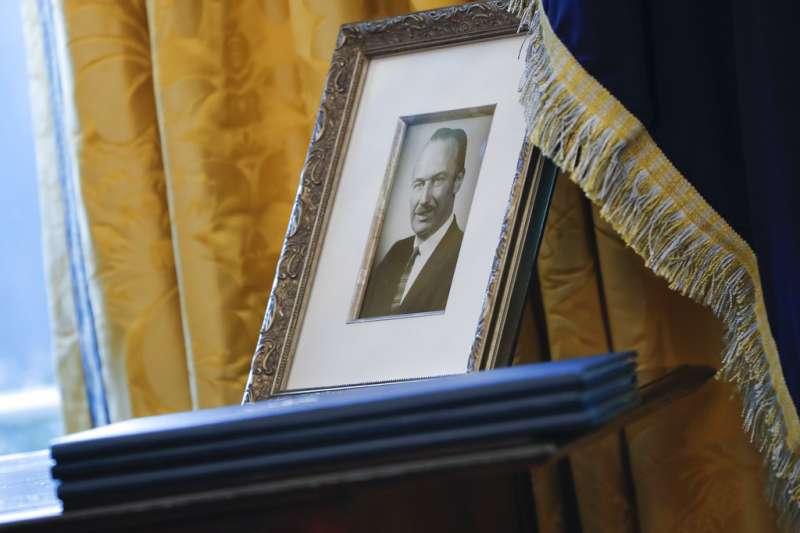 美國總統川普的父親佛瑞德(AP)