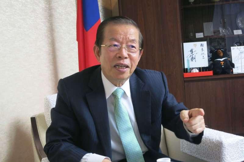 駐日代表謝長廷表示中國「拉日孤台」,若人民再不警覺,台灣將更孤立。(資料照,紀淑芳攝)