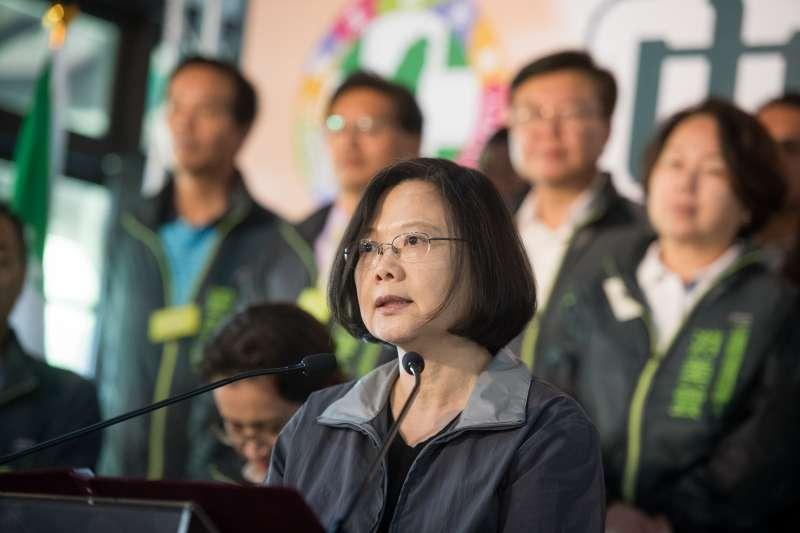 作者認為,總統蔡英文執政至今,已讓台灣人看清民進黨的真面目。(資料照,民進黨提供)