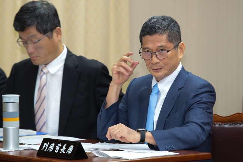 20181003-客委會主委李永得3日出席內政委員會。(顏麟宇攝)