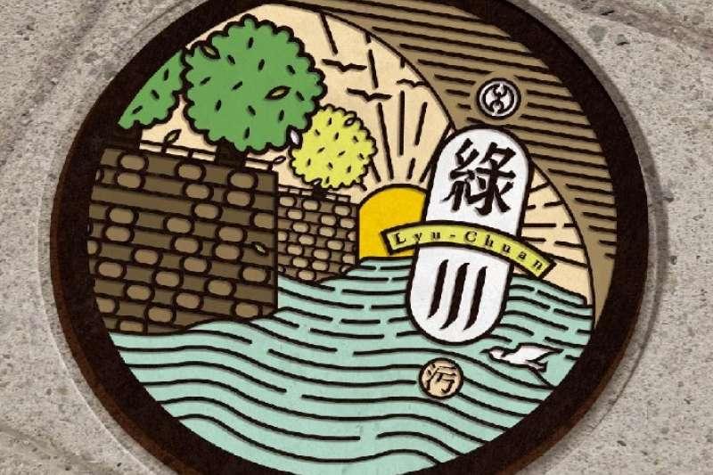 台中市綠川整治打造臺灣第一個擁有「註冊商標」的水岸品牌。(圖/台中市政府提供)
