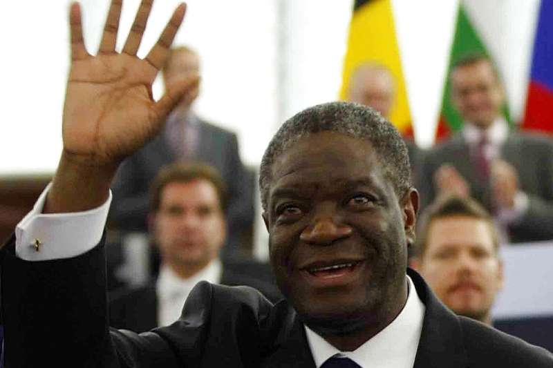 2018年諾貝爾和平獎得主:慕克維格(Denis Mukwege)。(AP)