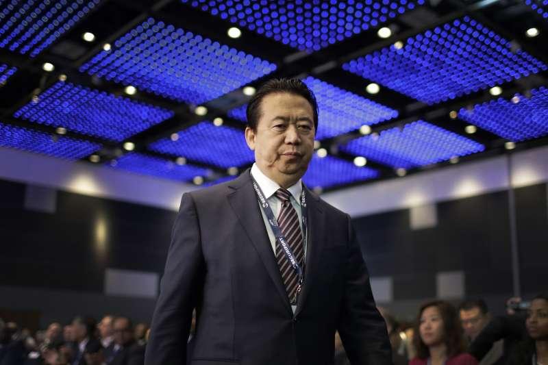國際刑警組織(Interpol)主席孟宏偉(AP)