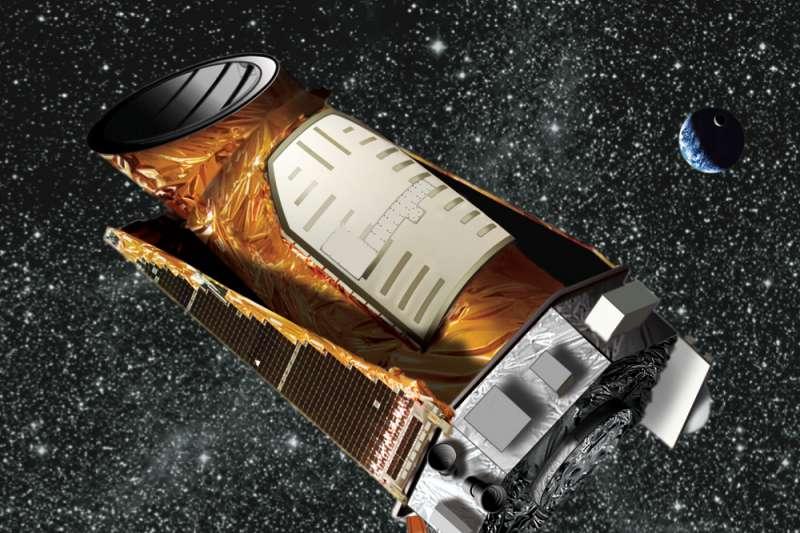 克卜勒太空望遠鏡(Wikipedia/ Public Domain)