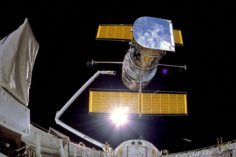 哈伯太空望遠鏡(Wikipedia / Public Domain)