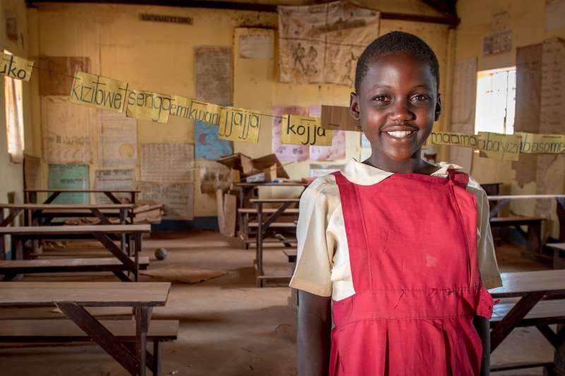 世界展望會希望藉由國際女童日,邀集民眾一同提升女孩的學習機會和就業能力,進而帶動全球經濟的未來發展。(台灣世界展望會提供)
