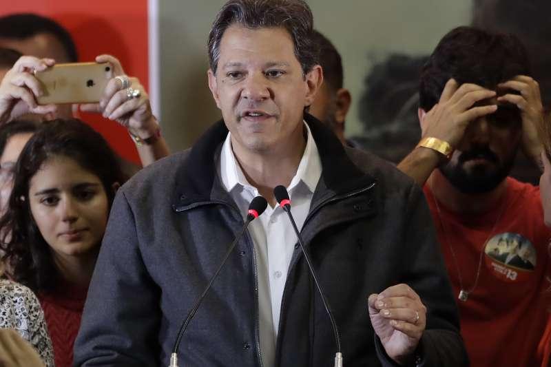巴西大選:立場左派的工黨總統候選人哈達德(AP)
