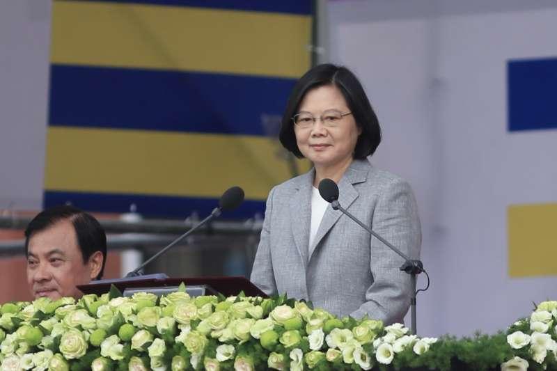 總統國慶演說》蔡英文:越來越多理念相近國家,表達對中華民國台灣的支持-風傳媒