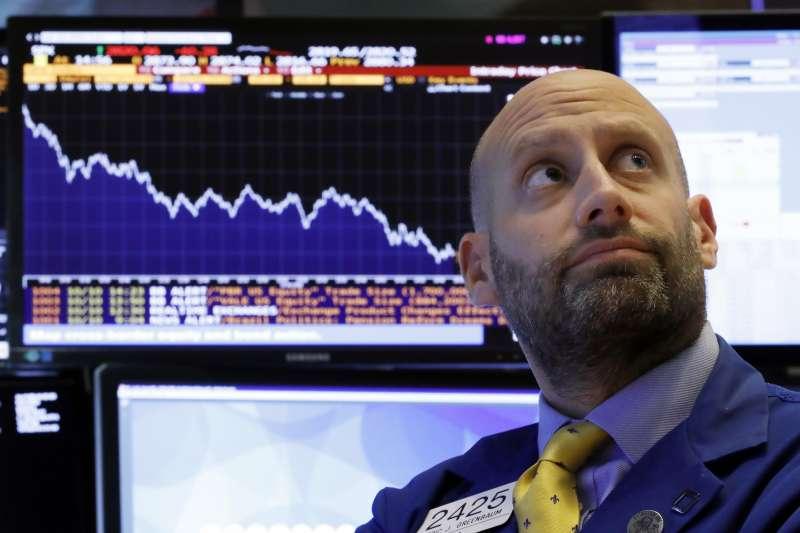 2018年10月11日,美國股市暴跌(AP)