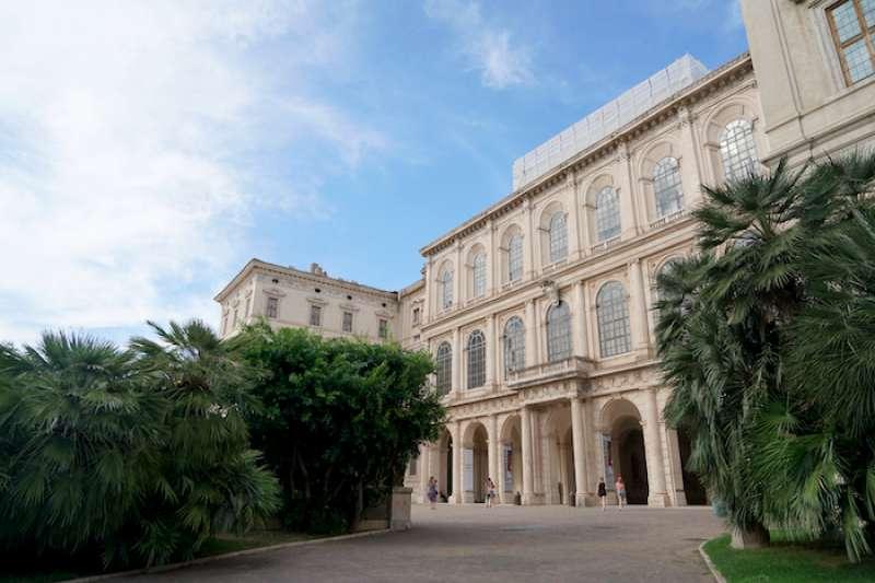 羅馬市中心的巴貝利尼宮(曾廣儀攝)