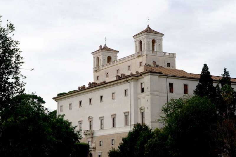 羅馬文藝復興時期的麥迪奇別墅(曾廣儀攝)