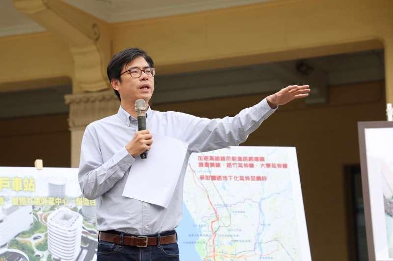 高雄市長候選人陳其邁。(圖/陳其邁辦公室提供)