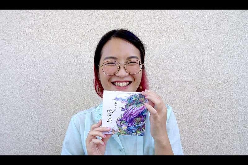 新生代動畫創作者楊子新正在有「迪士尼動畫師搖籃」之稱的加州藝術學院就讀,並以「紀錄台灣日常的美」為題進行創作。(圖/取自嘖嘖網站)