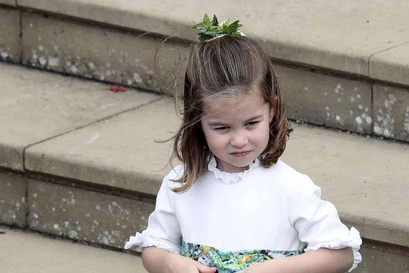 2018年10月12日,英國尤金妮公主(Princess Eugenie)下嫁酒商布魯克斯班克(AP,美聯社)