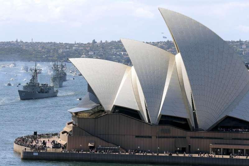 澳洲雪梨歌劇院(AP)