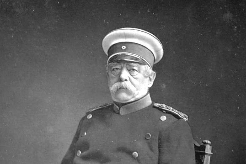 俾斯麥(Otto von Bismarck)(Wikipedia / Public Domain)