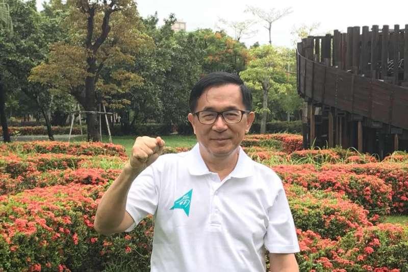 20180717_前總統陳水扁。(資料照,翻攝臉書「陳水扁新勇哥物語」)