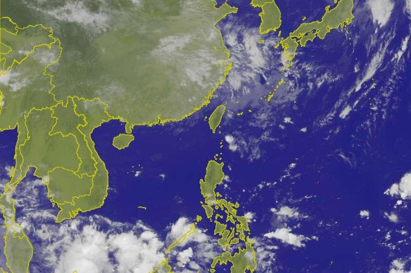 東北風影響 北台灣未來一週濕涼有雨(CWB)